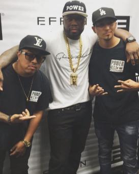 50 Cent Effen Vodka signing